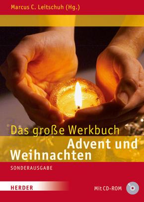 Das große Werkbuch Advent und Weihnachten, m. CD-ROM