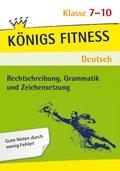 Rechtschreibung, Grammatik und Zeichensetzung, 7.-10. Klasse