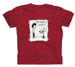 T-Shirt Gr.134-146 - Ich war`s nicht  - Gregs Tagebuch