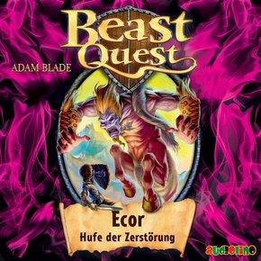 Beast Quest - Ecor, Hufe der Zerstörung, 1 Audio-CD