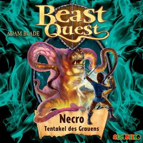 Beast Quest - Necro, Tentakel des Grauens, 1 Audio-CD