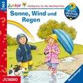 Sonne, Wind und Regen, 1 Audio-CD - Wieso? Weshalb? Warum?, Junior