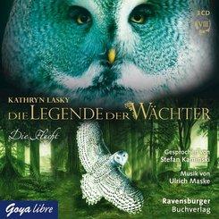 Die Legende der Wächter - Die Flucht, 3 Audio-CDs