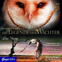 Die Legende der Wächter - Der Verrat, 3 Audio-CDs