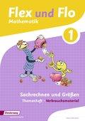 Flex und Flo, Ausgabe 2014: Sachrechnen und Größen (Verbrauchsmaterial) - Themenheft.1