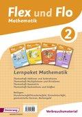 Flex und Flo, Ausgabe 2014: Lernpaket Mathematik 2: 4 Themenhefte (Verbrauchsmaterial)