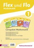 Flex und Flo, Ausgabe 2014: Lernpaket Mathematik 1: 4 Themenhefte (Verbrauchsmaterial)