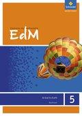 Elemente der Mathematik (EdM) SI, Ausgabe Sachsen (2012): 5. Schuljahr, Arbeitsheft