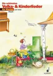 Die schönsten Volks- und Kinderlieder, Klavier
