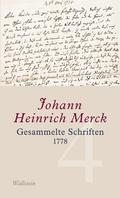 Gesammelte Schriften 1778