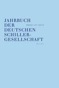 Jahrbuch der Deutschen Schillergesellschaft 2012 - Bd.56