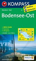 Kompass Karte Bodensee-Ost