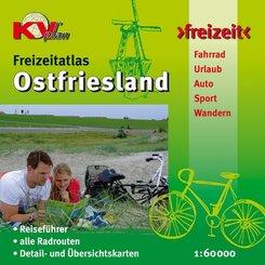 KVplan Freizeit Ostfriesland Freizeitatlas