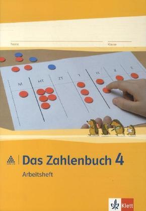 Das Zahlenbuch, Allgemeine Ausgabe (2012): 4. Schuljahr, Arbeitsheft