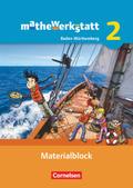 mathewerkstatt - Mittlerer Schulabschluss Baden-Württemberg: Materialblock; Bd.2