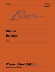 Balladen, Klavier