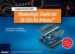 Blinkenlight Shield mit 20 LEDs für Arduino (Inklusive Platine mit 20 einzeln steuerbaren LEDs)