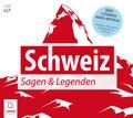 Schweiz Sagen und Legenden, 2 Audio-CDs