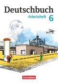 Deutschbuch, Gymnasium Östliche Bundesländer und Berlin: 6. Schuljahr, Arbeitsheft