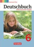 Deutschbuch, Differenzierende Ausgabe Rheinland-Pfalz: 6. Schuljahr, Schülerbuch