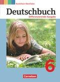 Deutschbuch, Differenzierende Ausgabe Nordrhein-Westfalen: 6. Schuljahr, Schülerbuch