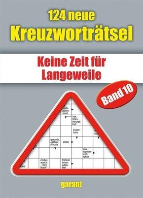 124 neue Kreuzworträtsel - Bd.10