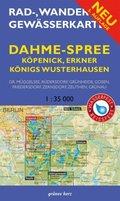 Rad-, Wander- & Gewässerkarte Dahme-Spree