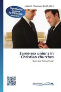 Same-sex unions in Christian churches