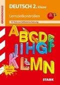 Deutsch 2. Klasse, Lernzielkontrollen, m. MP3-CD