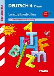 Deutsch 4. Klasse, Lernzielkontrollen, m. MP3-CD
