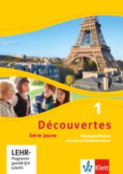 Découvertes - Série jaune: Découvertes. Série jaune (ab Klasse 6). Ausgabe ab 2012 - Übungssoftware mit Extra-Vokabeltrainer - Bd.1