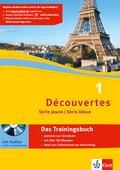 Découvertes - Série jaune / Série bleue: Das Trainingsbuch, m. Audio-CD; Bd.1