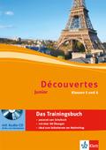 Découvertes Junior: Das Trainingsbuch, Klassen 5 und 6, m. Audio-CD; Bd.1+2