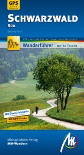 MM-Wandern Schwarzwald Süd, m. 1 Karte