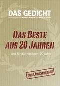 Das Gedicht: Das Beste aus 20 Jahren und für die nächsten 20 Jahre; Bd.20