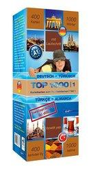 Top 1000 Türkisch Niveau A1, Karteikarten m. Lernbox - Tl.1