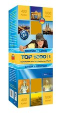 Top 1000 Latein Niveau A1, Karteikarten m. Lernbox - Tl.1