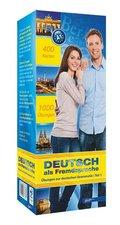 Top 1000 Deutsch als Fremdsprache Niveau A1, Karteikarten m. Lernbox - Tl.1