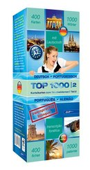 Top 1000 Portugiesisch Niveau A2, Karteikarten m. Lernbox - Tl.2