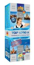 Top 1000 Russisch Niveau A2, Karteikarten m. Lernbox - Tl.2