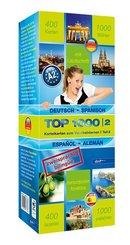 Top 1000 Spanisch Niveau A2, Karteikarten m. Lernbox - Tl.2