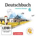 Deutschbuch, Gymnasium Östliche Bundesländer und Berlin: 6. Schuljahr, Interaktive Übungen, CD-ROM