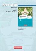 Mathematik Real, Differenzierende Ausgabe Nordrhein-Westfalen (2011): 7. Schuljahr, Arbeitsheft