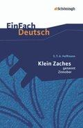 Klein Zaches, genannt Zinnober