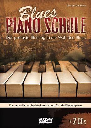 Blues Piano Schule, m. 2 Audio-CDs