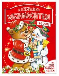 Glitzermalbuch Weihnachten