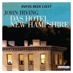 Das Hotel New Hampshire, 16 Audio-CDs