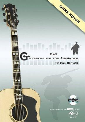 Das Gitarrenbuch für Anfänger, Gitarrenworkshop, m. Audio-CD
