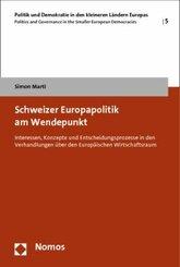 Schweizer Europapolitik am Wendepunkt