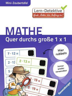 Lern-Detektive - Mini-Zaubertafel; Quer durch das große 1 x 1